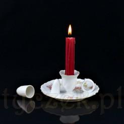Stylowy świecznik do przenoszenia z przełomu XIX i XX wieku