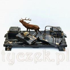 Reprezentacyjny kałamarz biurkowy