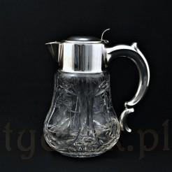 kryształowy dzban na zimne napoje