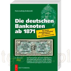 "Najnowszy katalog banknotów niemieckich ""Deutsche Banknoten"""