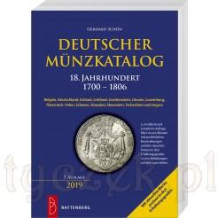 Katalog numizmatyczny: Niemieckie monety 18 wiek / XVIII w.