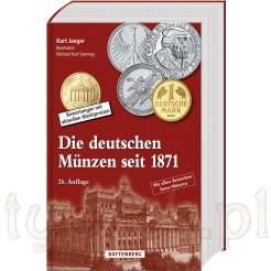 Katalog monet niemieckich od 1871 roku Jager