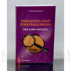 Katalog monet euro z błędami menniczymi