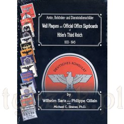 katalog Wall Plaques and Official Office Signboards autor: Saris & Gillain