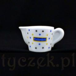 Filigranowy mlecznik do mleczka lub śmietanki do kawy o pojemności ok. 30 ml