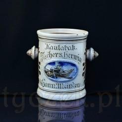 Kolekcjonerski pojemnik na tabakę marki FISCHER HERWIG