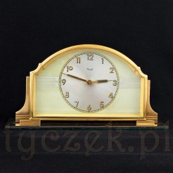 Stylowy okaz zegarek z alarmem na biurko i nie tylko
