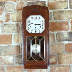 Sprawny zegar markowy Kienzle na ścianę