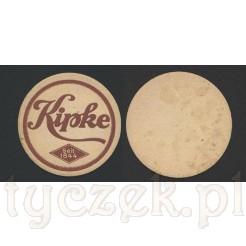 Kolekcjonerski podstawek pod piwny kufel - Kipke Bier