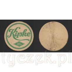 Oryginalny wafel piwny wrocławskiego browaru Kipke