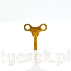 Mosiężny klucz do zegarów mechanicznych rozmiar 3
