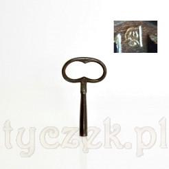 Sygnowany klucz do starych zegarów rozmiar 4,5mm