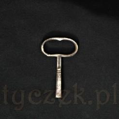 Stalowy klucz zabytkowy numer 12 rozmiar 5,25