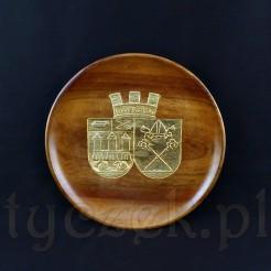 Efektowny talerz drewniany w sam raz do stylowego wnętrza