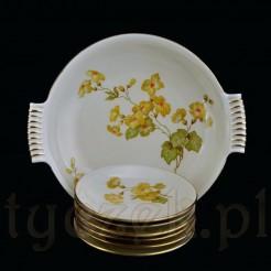 Kolekcjonerski komplet do powideł z żarskiej porcelany Melitta