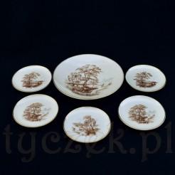 Komplet do konfitury z porcelany Rosenthal kolekcja Idyll