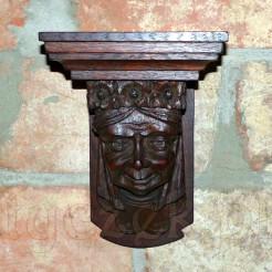 Wspaniale, ręcznie rzeźbiona z wielką dbałością o detale.