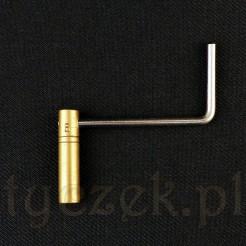Kwadrat o wymiarze 3.50 x 3.50mm w kluczu numer 5