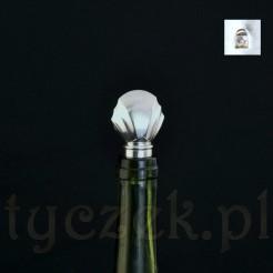 Elegancki markowy korek do wina