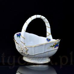 Porcelanowy koszyczek na słodkości