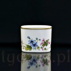 Porcelanowy pojemnik na wykałaczki lub serwetki
