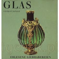 Książka o antycznym szkle autor George Savage GLAS