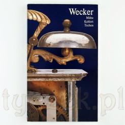 """Książka o niemieckich budzikach """"Wecker"""""""