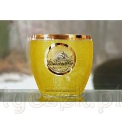 Szklany kubek Souvenir - Drachenfels