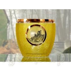 Ruine Drachenfels - szklanica z widoczkiem