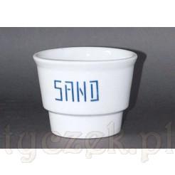Porcelanowy pojemnik na piasek SAND