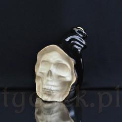 Osobliwy antyk w formie trupiej czaszki
