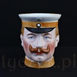 Popiersie Kaiser Wilhelm jako figuralny kubek