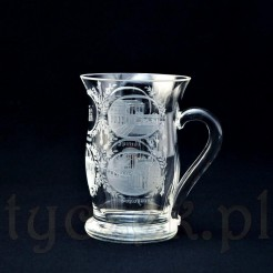Ekskluzywny kufel szklany z uzdrowiska KARLSBAD