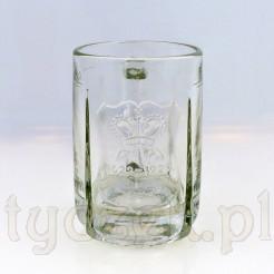 Piwo tyskie zabytkowy kufel ze szkła