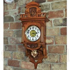 Dostojny zegar zabytkowy - wiszący kwadrans