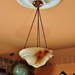 Oryginalna przedwojenna lampa