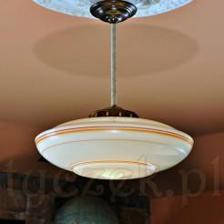 Rewelacyjna lampa model DYSK w typie bauhaus