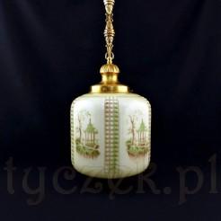Międzywojenna lampa do stylowego salonu