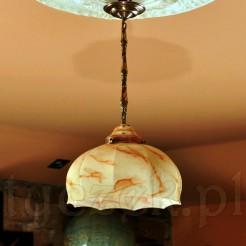 zabytkowa lampa do stylowej jadalni i wyrafinowanego gabinetu