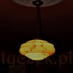 Bajecznie piękna lampa stylowa z epoki art deco
