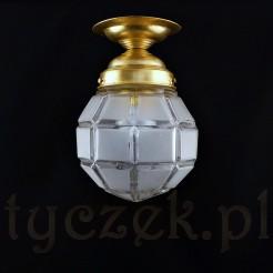 Lampa podsufitowa w kształcie nonagonu