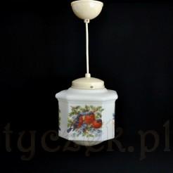 lampa do przedpokoju z pierwszej połowy XX wieku