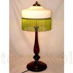 Zabytkowa lampa z epoki art deco