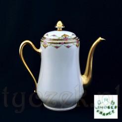 Markowy dzbanek ze szlachetnej porcelany francuskiej