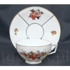 Porcelana Art Deco marki Limoges - antyczna filiżanka francuska