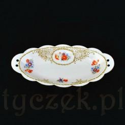 Przepiękna porcelanowa paterka