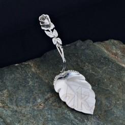 Przepiękna srebrna łopatka do ciasta