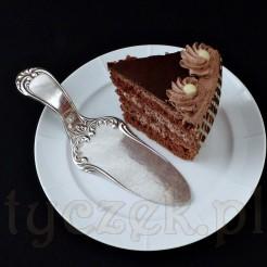 Piękna łopatka w stylu eklektycznym do serwowania ciast i tortów