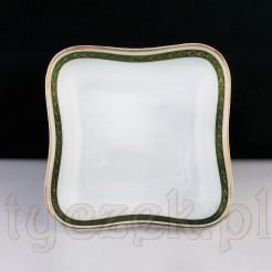 Zabytkowy secesyjny półmisek ze śląskiej porcelany.