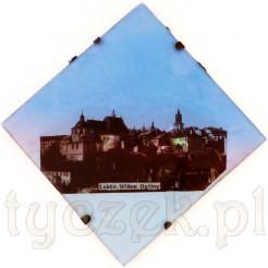zabytek z LUBLINA - perłowy obrazek z widokiem na stare miasto